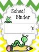 Caterpillar Take Home Folder Covers