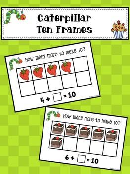 Caterpillar Ten Frames