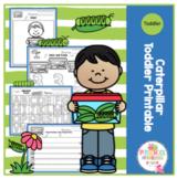 """Caterpillar Toddler Printable """"No Prep"""""""
