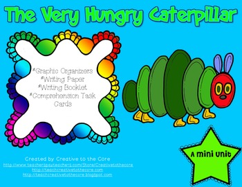 Caterpillar Unit~ Includes Graphic Organizers & Much More!