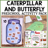 Caterpillar and Butterfly Activities for Pre-K, Preschool and Tots