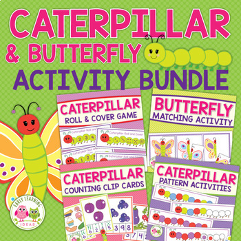 Caterpillar and Butterfly Bundle