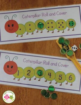 Caterpillar and Butterfly Activities Bundle