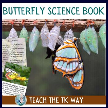 Caterpillar and Butterfly Science Book