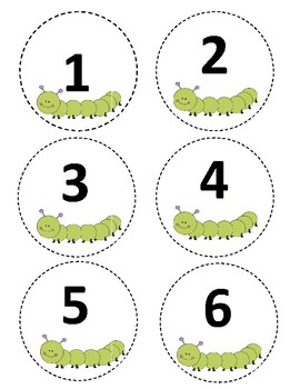 Caterpillar display numbers