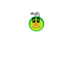 FREEBIE CLIP ART... Caterpillar face and rainbow circle fr