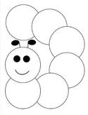 Caterpillar shaped graphic organizer
