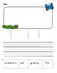 Caterpillar to butterfly unit: writing, life cycle, activities - K-2, ESL/ELL!