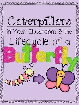 Caterpillars & Butterfly Unit for Preschoolers