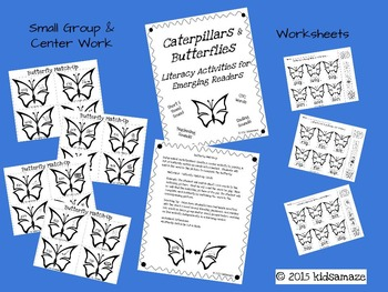 Caterpillars and Butterflies: Short i CVC Activities for Emerging Readers