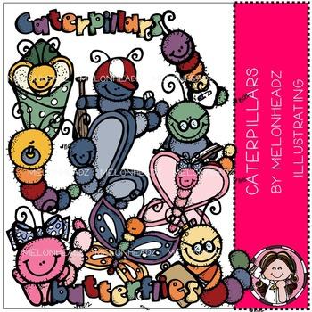 Melonheadz: Caterpillars clip art - COMBO PACK