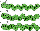 Caterpiller Numbers & Alphabet