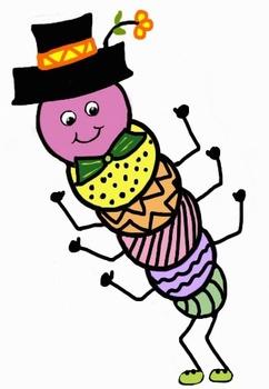 Free Clipart - Caterpillars