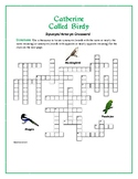 Catherine Called Birdy: Synonym/Antonym Crossword—Use with Bookmarks Plus!