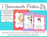 Catholic 7 Sacraments Posters and Quiz - Seven Sacraments
