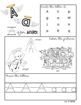 Catholic ABC Workbook