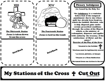 Catholic Activities: Stations of the Cross: Interactive Stations and Booklet