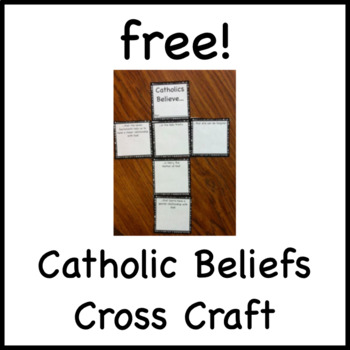 Free! Catholic Beliefs Cross