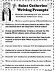 Catholic Biography Language Arts Activities - Saint Cather