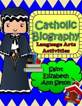 Catholic Biography Language Arts Activities - Saint Elizab