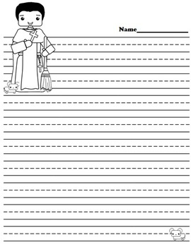 Catholic Biography Language Arts Activities - Saint Martin de Porres
