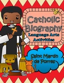 Catholic Biography Language Arts Activities - Saint Martin