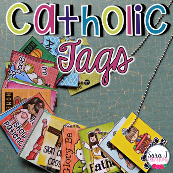 Catholic Brag Tag Bundle