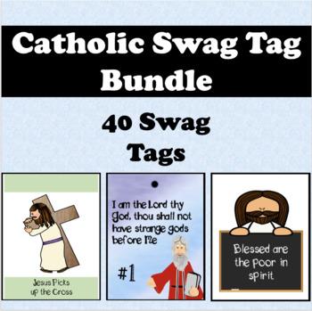 Catholic Swag Tag Bundle