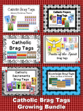 Catholic Brag Tags Growing Bundle
