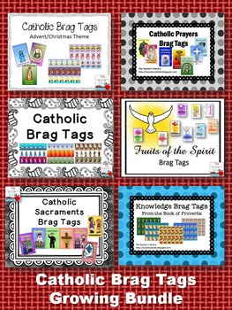 Catholic Brag Tags Growing Bundle