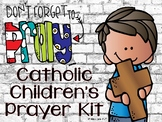 Catholic Children's Prayer Kit