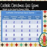 Catholic Christmas Quiz Game Grades 6 and Above