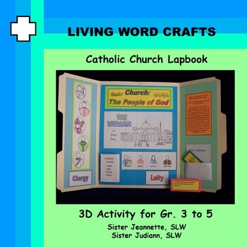 Catholic Church Briefcase 3D Activity for Gr. 3 to Gr. 7