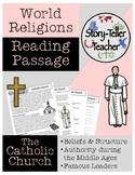 Catholic Church Christianity Middle Ages Reading Passage