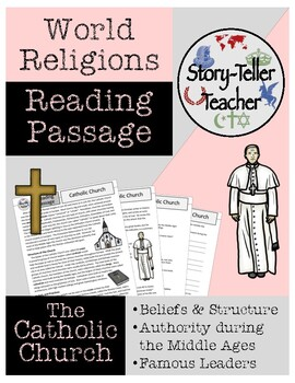 Catholic Church Christianity Middle Ages Reading Passage