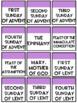 Catholic Classroom Calendar