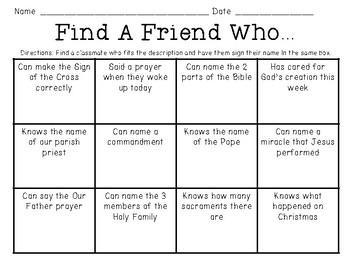 Catholic Find A Friend Who