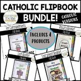 Catholic Flipbook BUNDLE! - Lent, Ten Commandments, Sacram