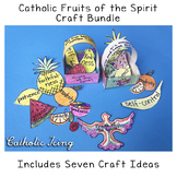 Catholic Fruits Of The Spirit Bundle (with 7 Different Cra