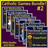 Catholic Games Bundle #2 - Distance Learning Jeopardy Game Shows!