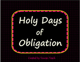Catholic Holy Days of Obligation in the United States SMAR