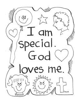 """Catholic """"I am Special"""" Prayer Service for children"""
