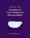 Catholic Kids Activities for First Penance & Reconciliation