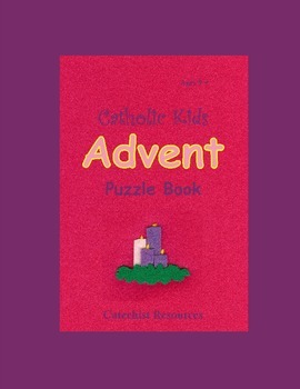 Catholic Kids Advent Puzzle Book