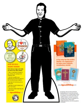Catholic Lesson and Art Craft Printable Activity: FR. ALEJANDRO VESTS FOR MASS