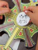 Catholic Lesson and Art Craft Printable Activity: MYOM: MA