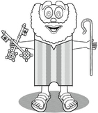 Catholic Lesson and Art Craft Printable Activity: PETER TH