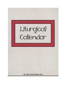 Catholic Liturgical Calendar Assignment