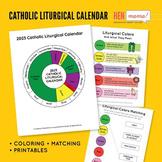 Catholic Liturgical Calendar Printables & Activities