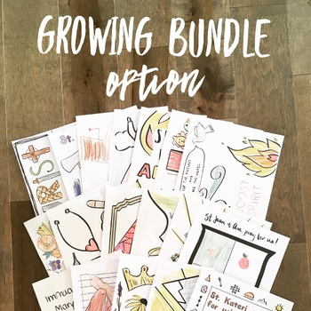 Catholic Liturgical Year Growing Bundle